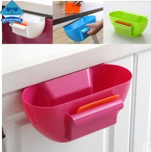 Wishome Plastic Trash New Design Plastic Kitchen Mini Trash Can Over The Cabinet  Waste Basket Garbage Rubbish Bin ZH 201483 In Waste Bins From Home U0026 Garden  ...