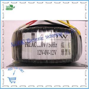 Image 4 - Peak power 120w 150w 200w 300w 500w 1600w Ring transformer toroidal Power Amplifier Transformer dual 12V 15V 17V 22V 24V 25V 30V