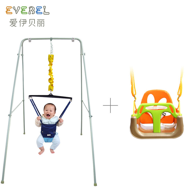 Hanging Chair For Baby Small Camping Bella Fitness Mount Type Swing Set Child Sports Bouncing Toy