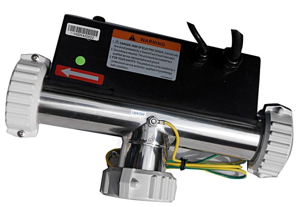 LX H30 R3 T/220V shape spa tub heater 3KW , spa tub heater and SPA ...