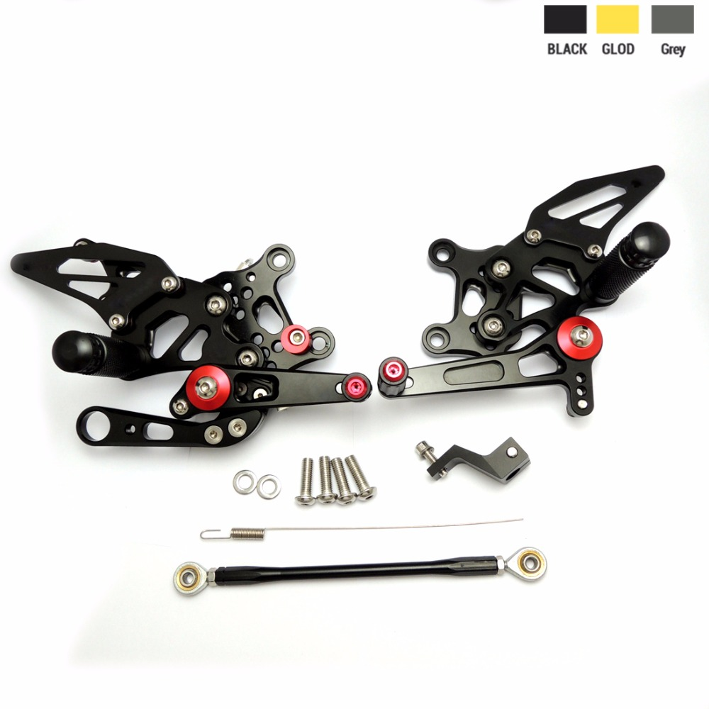 KEMiMOTO Motorcycle CNC Rearsets--For Aprilia RSV4 ( R / FACTORY ) 2009 2010 2011 Adjustable Rear Set Foot Rests morais r the hundred foot journey