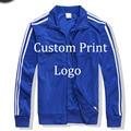 custom Made Print Logo Jackets Customized Jacket DIY Logo silk screen print Digital Embroidery Logo Tracksuit Printed Sportswear