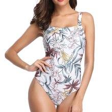 Hot Sale One Piece Swimsuit Women May Fused High Quality Plus Size Swimwear Female Bather Monokini Beach Bathing Suit Badpak XL