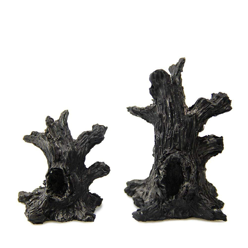 Miniature Landscape Garden Ornament Artificial Resin Dead Tree Trunk For Micro Landscape Doll House Desk Home Decoration 7 CM