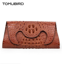 Tomubird2016 new high-quality fashion luxury brand shoulder diagonal cross genuine leather bagcounter genuine, female well-known