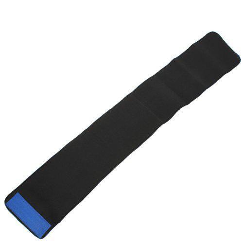 Mounchain Waist Trimmer Exercise Belt Slimming Burn Fat Sauna Sweat Weight Loss Wide Blue 3