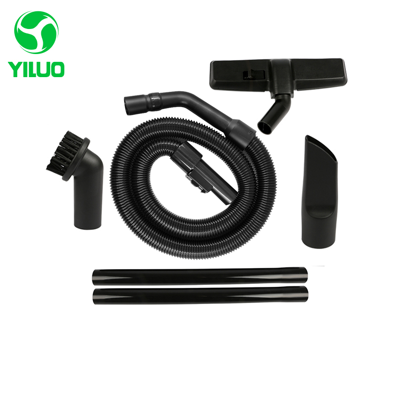 Diameter 35mm Black Flexible Expandable Hose+ Straight hose tube +suction nozzle for Vacuum Cleaner parts QZ14I QZ11C QZ11D etc цена