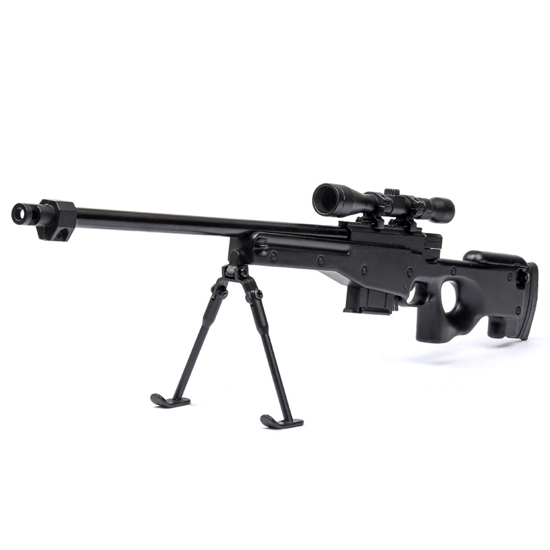 1:6 Simulation Model Assault Sniper Rifle Ak74 Tangpusen Charge Alloy Toy Gun Assembling Models Gifts