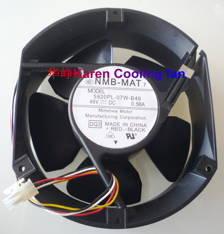 NEW ORIGINAL NMB 17251 5920PL-07W-B46 DQ3 DC48V 0.52A axial cooling fan industrial sitemap 44 xml