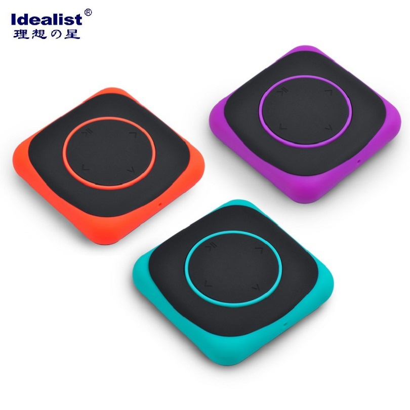 Idealist Ultrathin Mini 4GB 8GB MP3 Clip Music Player Sport MP3 Player Mini Clip Design Digital