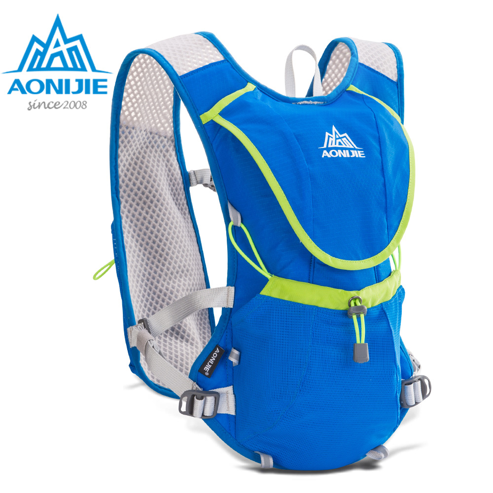 AONIJIE E883 Hydration Pack Backpack Rucksack Bag Vest Harness Water Bladder Hiking Camping Running Marathon Race Sports 8L