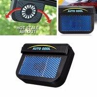 New 100 Solar Window Sun Power Car Auto Air Vent Cool Fan Fan Cooler Energy Saving