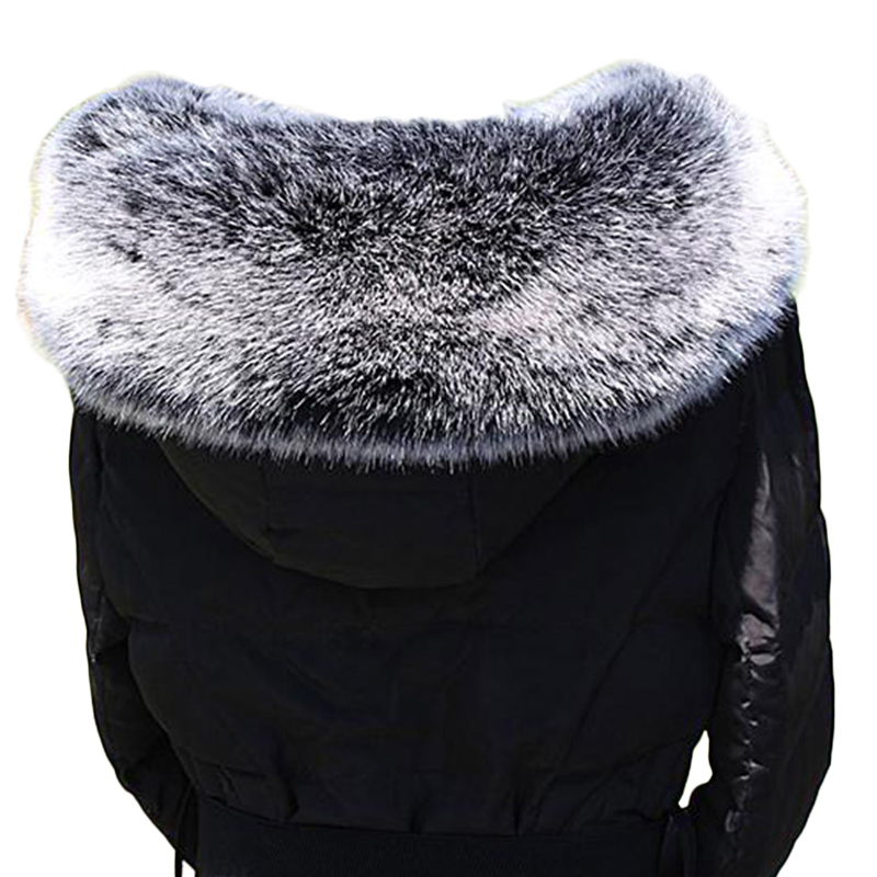 Faux Fox Fur Collars for Coats Jackets 2017 New Vest Warm Fake Fur Ring Scarves Russian