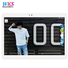 10.1 inch Android Phone Call Tablet Octa Core 4GB Ram GPS Dual SIM 3G Network Tablets with Customized Russian Keyboard 8 9.7′
