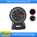 2inch 60mm Car DEF  Style Fuel pressure Gauge Meter Black Face Red & White LED With  Fuel Press sensor /Auto Gauge /Car Meter