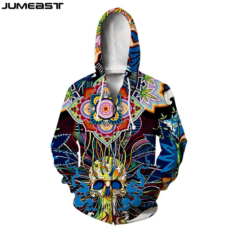 Jumeast Brand Men/Women 3D Printed Red Rose And Skull Long Sleeve Jacket Sport Pullover Fashion Spring Zipper Hoodies-in Hoodies & Sweatshirts from Men's Clothing on AliExpress - 11.11_Double 11_Singles' Day 1