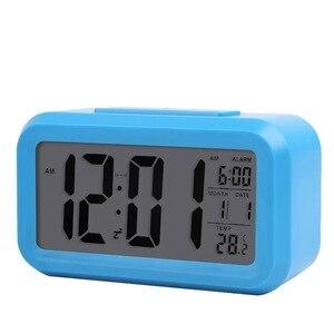 Image 4 - Student nacht smart alarm clock light control multi funktion platz smart uhr direkt ab werk kinder elektronische geschenke