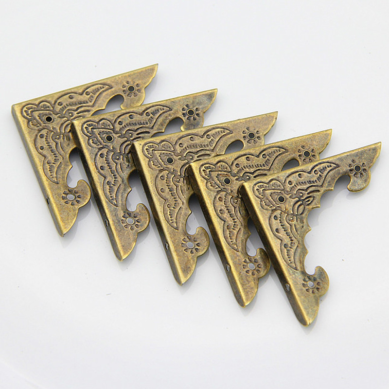 12Pcs Diy Antique Brass Jewelry Bronze D