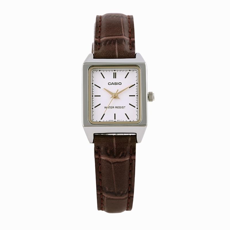 カシオ腕時計ファッション正方形の女性のクォーツ腕時計 LTP V007L 7E2  グループ上の 腕時計 からの レディース腕時計 の中 1
