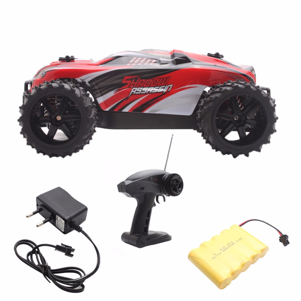 ФОТО 1/16 High Scale Speed 2.4G 4WD RTR Off-Road Buggy Remote RC Car Controlled Toys