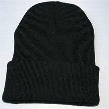 Унисекс громоздкая вязаная шапочка хип-хоп кепка, теплая зимняя Лыжная Шапка модные мягкие шапки#1116 A1