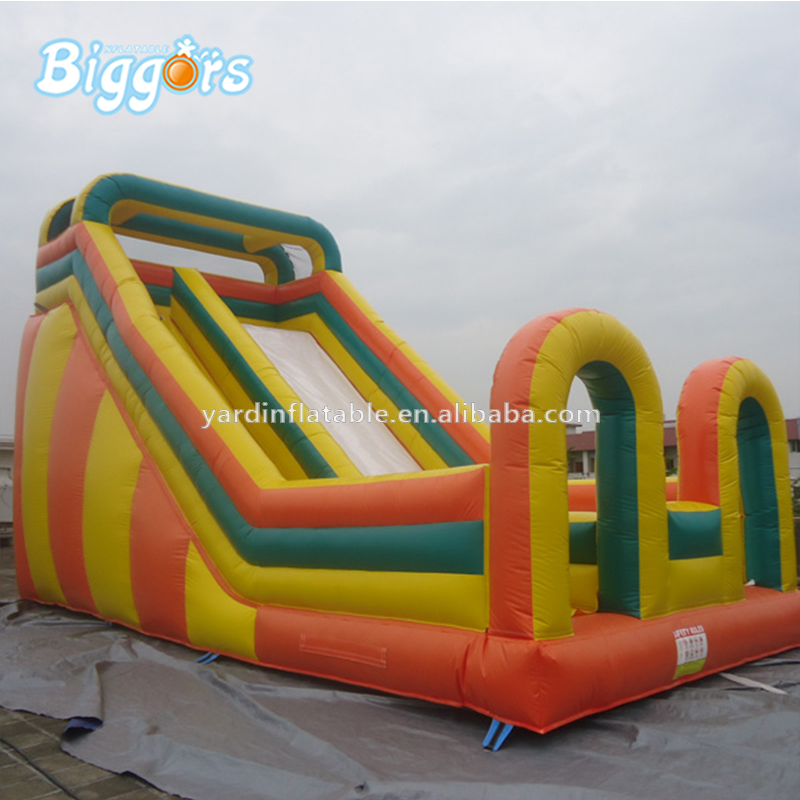 EN14960 Factory Price Inflatable Gonfiabili Inflatables Giant Water Slide With Air Blowers commercial tropical inflatable slide inflatable water slide pool with air blowers