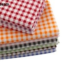 Хлопок льняной ткани метр сетки печати швейные diy тильда текстильная лоскутное stoffa для диван занавес скатерть 150x50 см