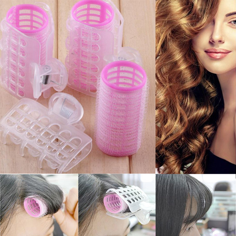 3PCS/Set New Fashion Useful Plastic Large Hair Roller Magic Hair Curlers Soft Hair Styling Tools DIY Home Beauty Women Hair Care