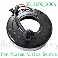 Auto Replacement Kit A/C AC Air Conditioning Compressor Clutch Coil For Nissan Altima Sentra DCS171 2600JA00A 10000658 Z0005023C