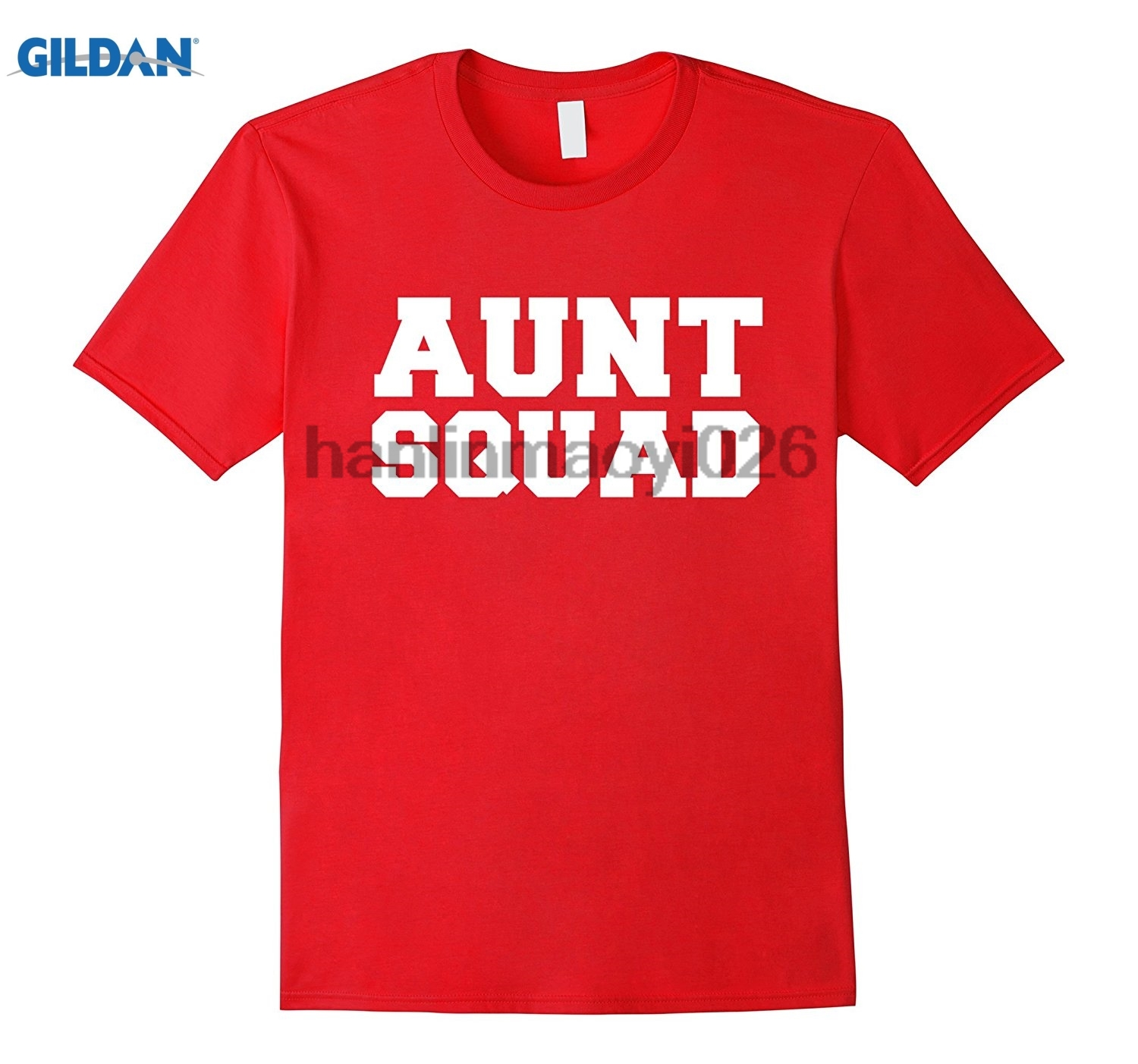 GILDAN Aunt Squad Funny T-shirt Favorite Auntie Gift Mothers Day
