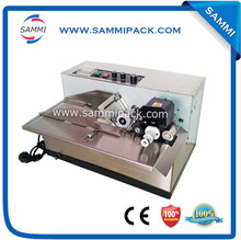MY-380 continuous solid ink date coding machine for plastic bag