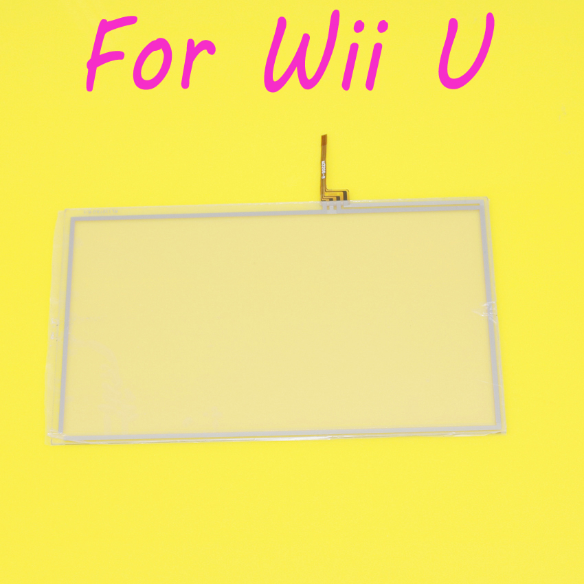 Jing Cheng Da 1pcs For Wii U font b Gamepad b font Repair Part Touchscreen Digitizer