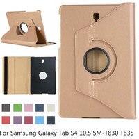 360 graus de rotação caso inteligente para samsung galaxy tab s4 10.5 SM-T830 SM-T835 t830 t835 à prova choque capa para samsung tab s4 10.5