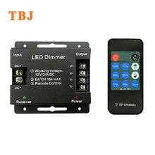 DC12-24V Wireless RF LED Single Color Dimmer Controller for 5050 3528 Strip Lights
