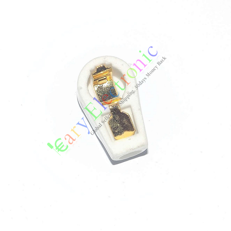 Beautiful Wholesale And Retail 50pc Gold 6.3mm Tube Anode Caps Ceramic Socket For Ef37 Ef39 12e1 6j7 6k8 6k7 Free Shipping Luxuriant In Design Home