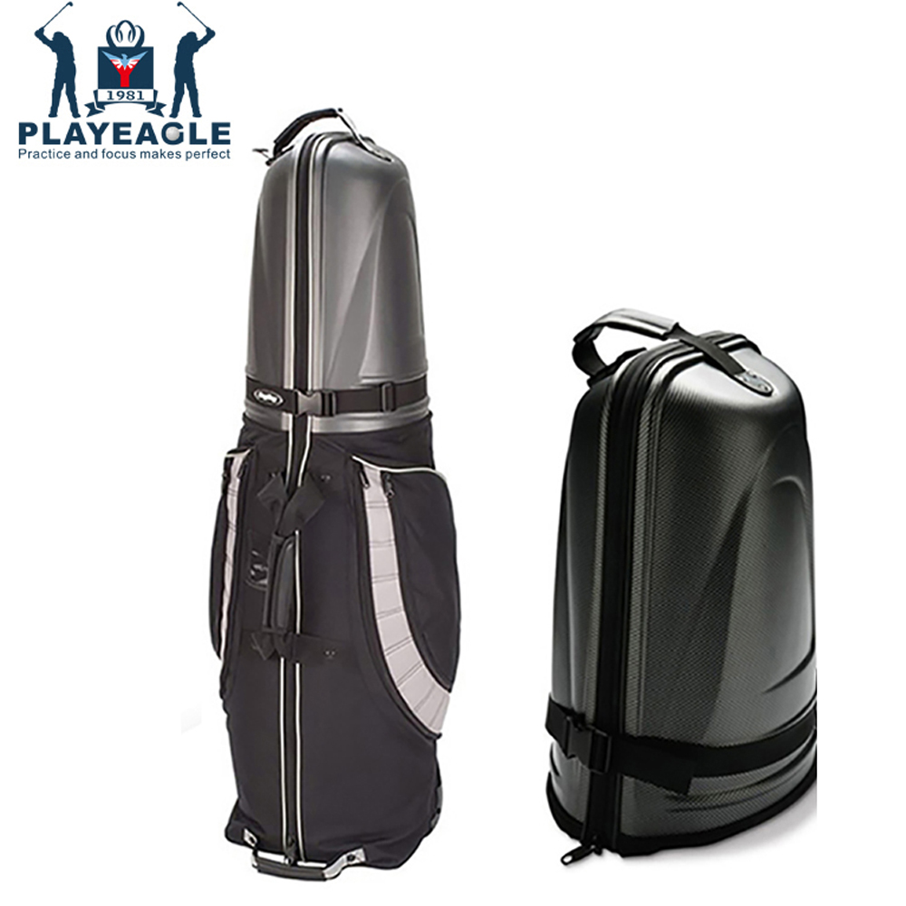 Golf Aviation Bag Hard Top Bottom With Wheels Shockproof Golf Travel Cover Bag Protable Folding Golf Aviation Bag Air Bag Golf mizuno aerolite x golf stand bag white royal