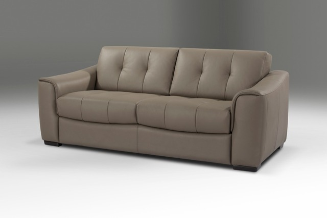 Designer Genuine Leather Sofa Bed 3 Seater With Removable Matterss With  Storage Box For Living Room