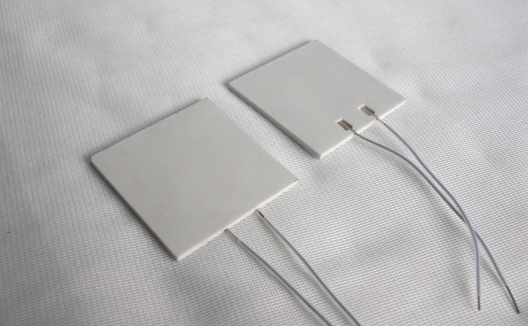 2pcs RJ505020 Ceramic Heating Plate High Temperature Heating Plate 50*50*2mm Low Pressure 5*5cm 5V 12V 24V Hot Plate