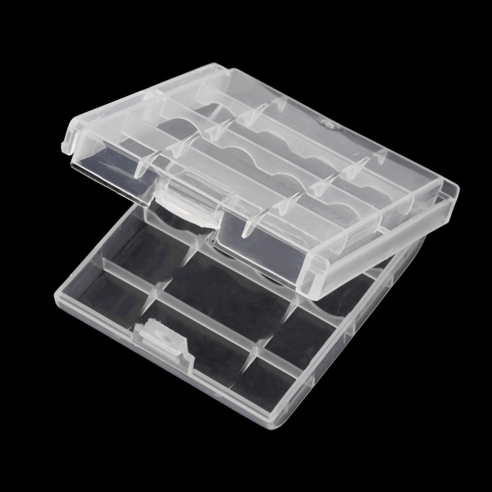 New Hard Plastic Case Cover Holder for AA / AAA Battery Storage Box Digital Hot