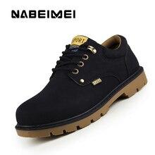 Mode schneeschuhe plattform schuhe männer 2017 günstige lace-up round toe ankle boot solid black/gelb/braun winter stiefel