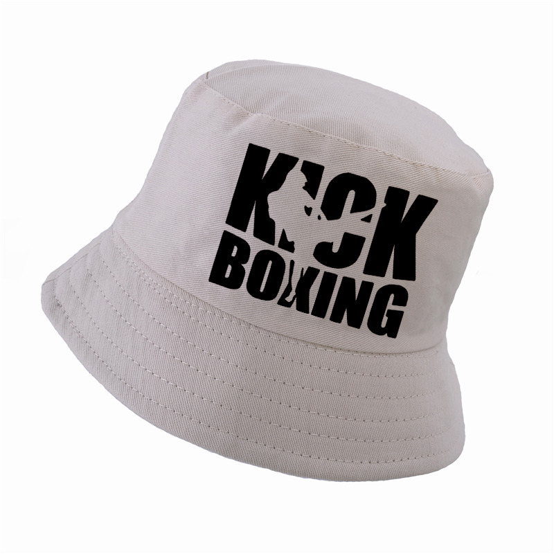 f822fa1c654 Dropwow new k pop fashion kick boxing hat Men women bucket hat ...