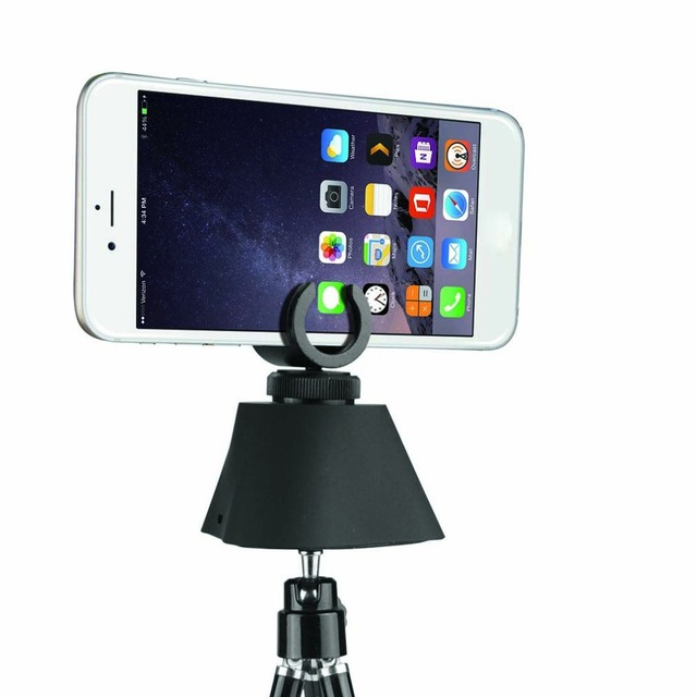 Professional 360 Degree Full Angle Record Electric Panorama Head Tripod Head Self Timer For Gopro Action Camera For IOS