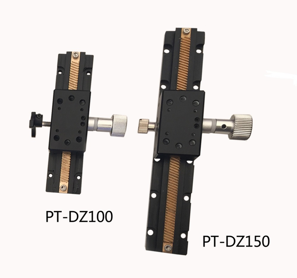 PT-DZ100/150 Z Axis Manual Linear Stage, Manual Z Axis Station, Manual Lab Jack, Manual Platform, Optical Sliding Table