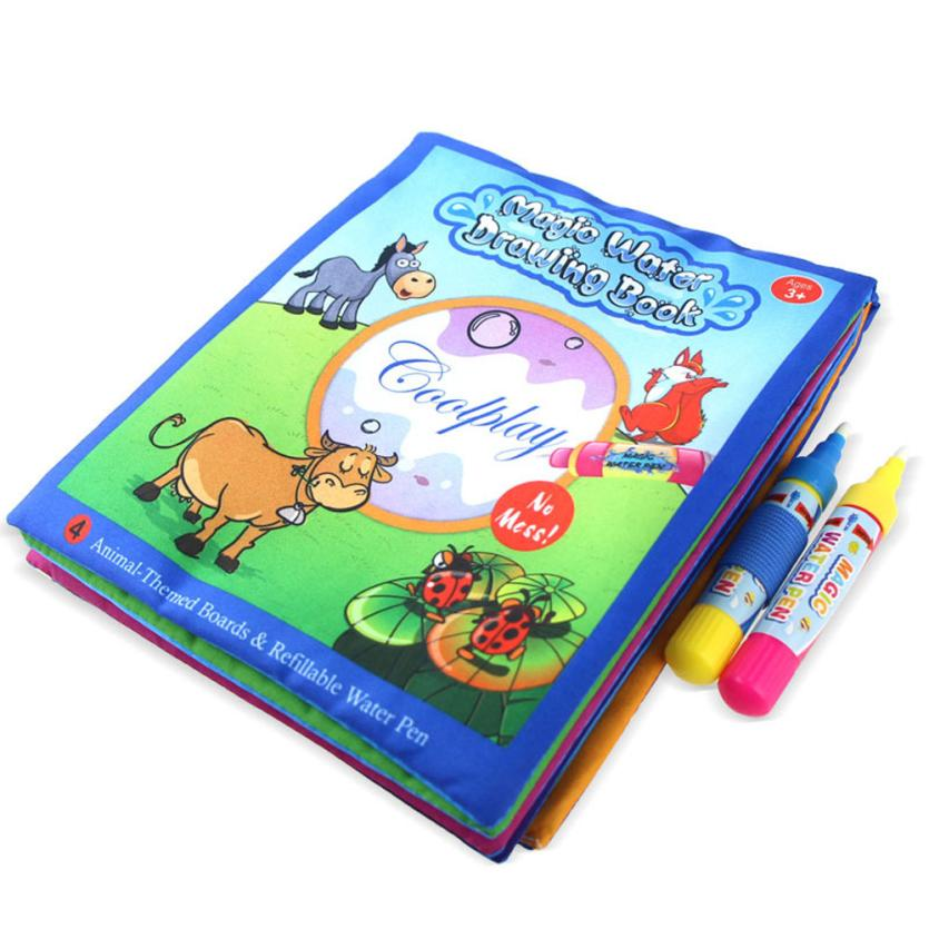 CHANSEEND HOT Sell Children Water Painting Cloth Book