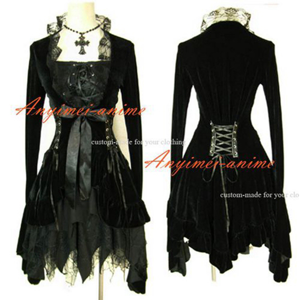 Gothic Lolita Punk Sweet Fashion Dress Cosplay Costume Tailor-made[CK1226]