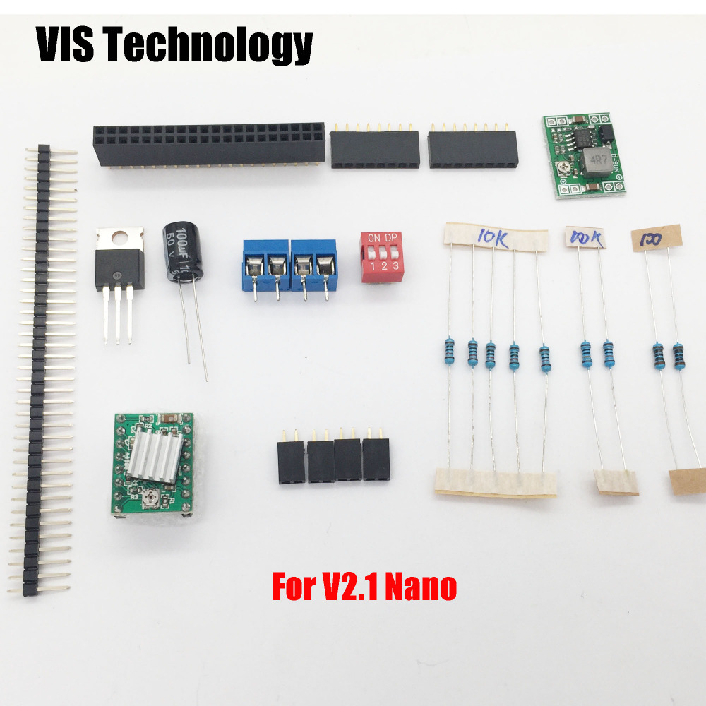 US $5 3 |1set Component for Nanodlp shield V2 1/V2 2 PCB for SLA Nano  printer Thingiverse TOS-in 3D Printer Parts & Accessories from Computer &  Office