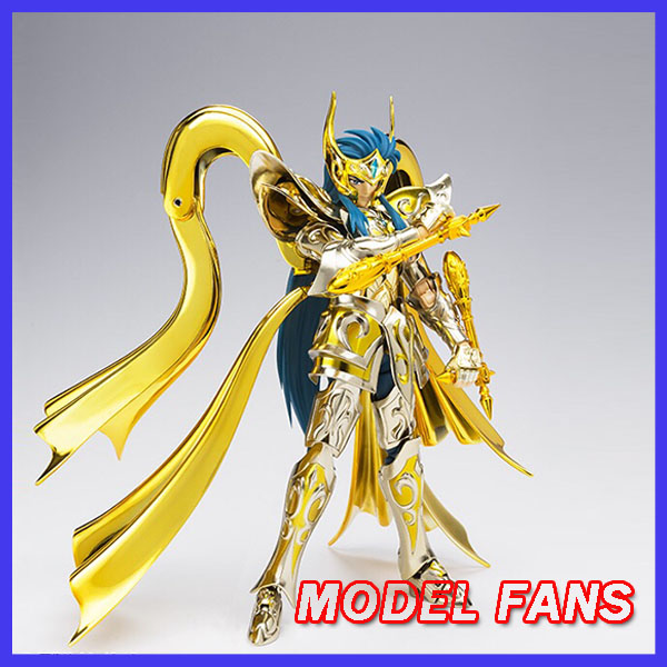 MODEL FANS IN-STOCK GreatToys EX Aquarius Camus God Cloth SOG Metal Armor GT EX Saint Seiya Myth Cloth Action Figure saint seiya myth cloth camus metal