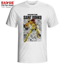 Libra Dohko T-shirt Gold Saints Anime Saint Seiya Knights of the Zodiac Novelty T Shirt Creative Hip Hop Pop Women Men Top