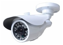 "2017 China high definition analog 24 leds 1/3""Sony CCD outdoor 700tvl infrared bullet cctv camera with metal casing"