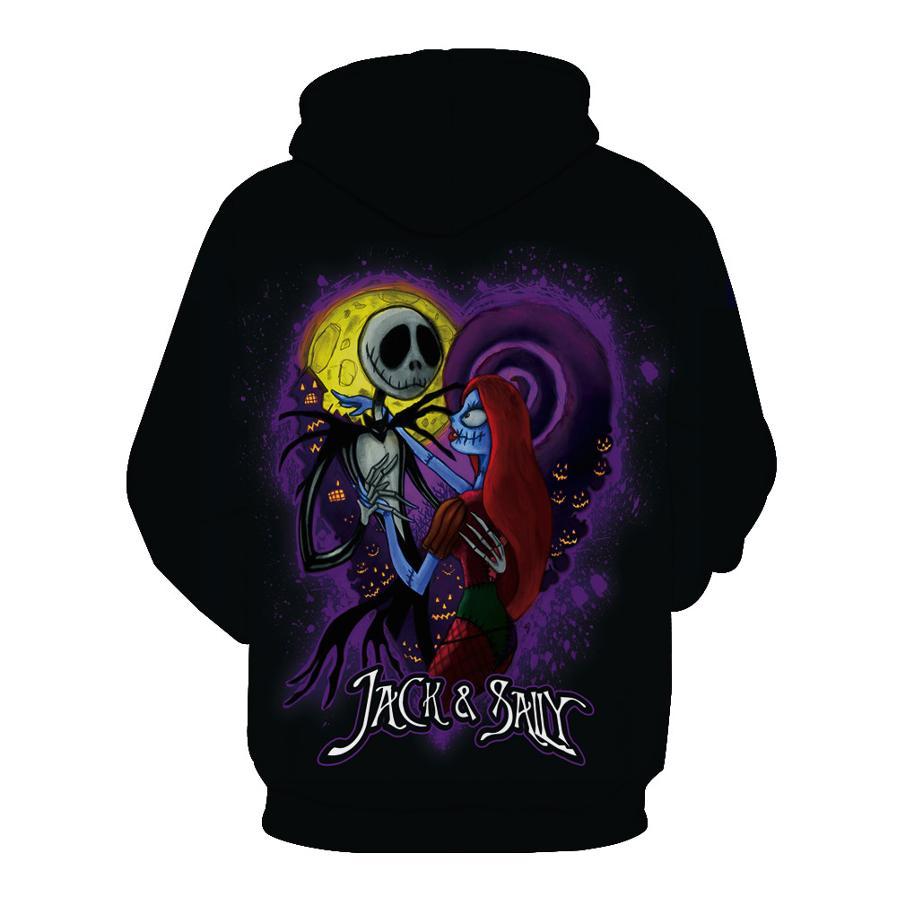 The Nightmare Before Christmas Sally Jack Skellington Sweatshirt ...